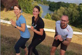 Un cours de sport pour apprendre à courir